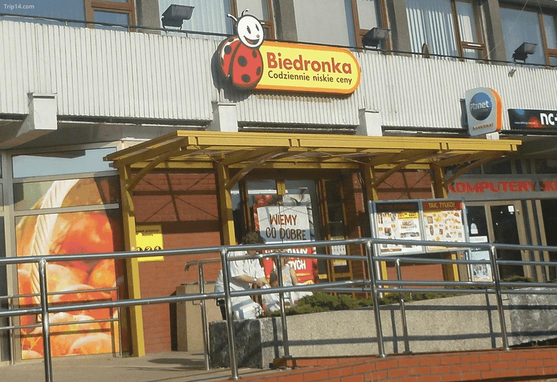 cửa hàng Biedronka