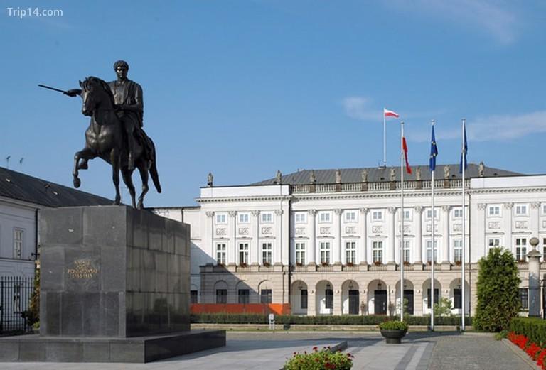 Tượng Józef Poniatowski ở Warszawa, Ba Lan