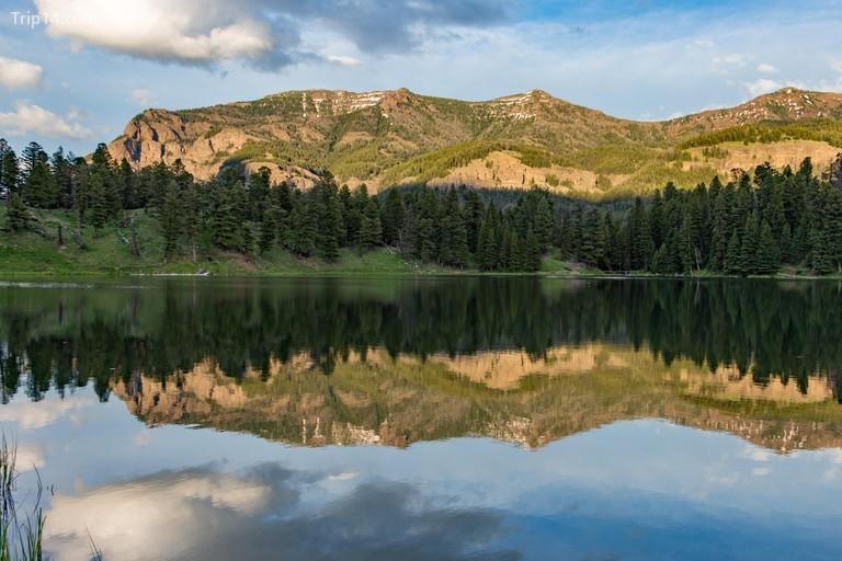 Trout Lake at Yellowstone National Park