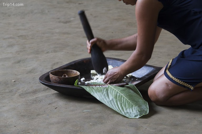Chicha làm bằng Yuca © Vibeke Johannessen / Người Viking ở nước ngoài