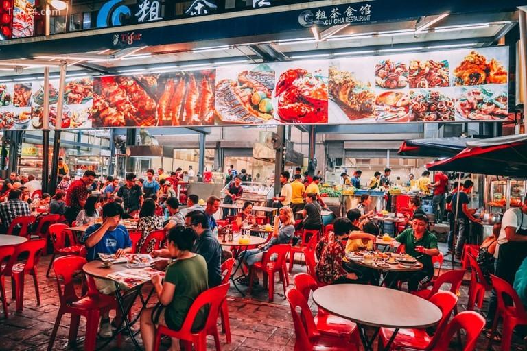 Chợ đêm ẩm thực đường phố Alor, Kuala Lumpur - Trip14.com