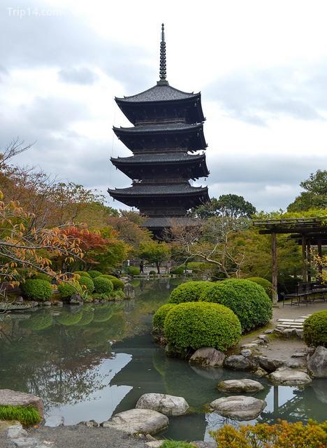 Chùa Năm tầng ở chùa To-ji - Trip14.com