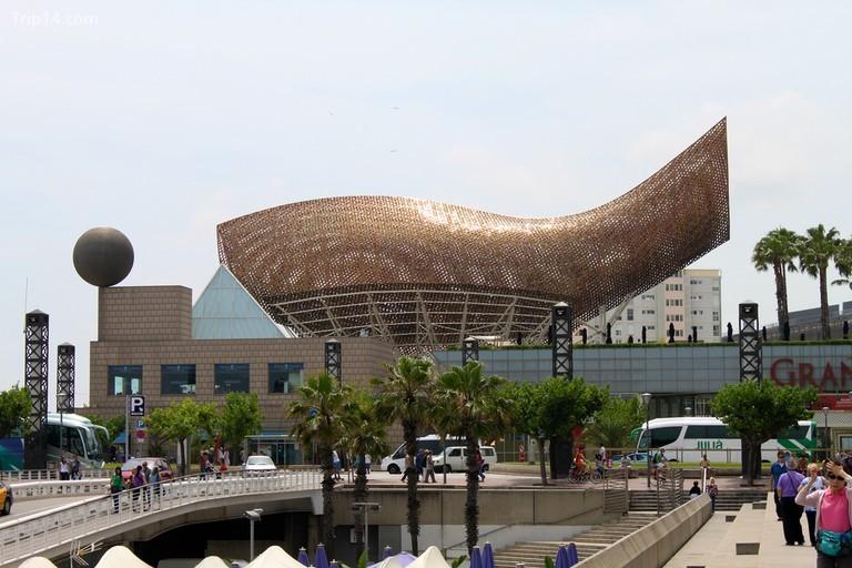 Tác phẩm El Peix của Frank Gehry
