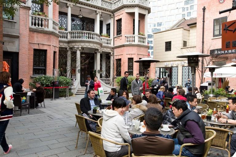 Cafe tại Xintiandi, Thượng Hải, Trung Quốc - Trip14.com
