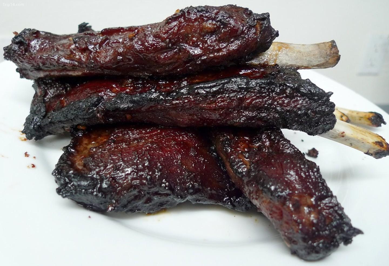Sườn phụ kiện thịt nướng kiểu Trung Quốc    
